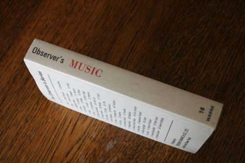 The Observers Book of Music