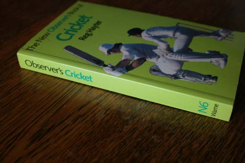 The New Observers Book of Cricket