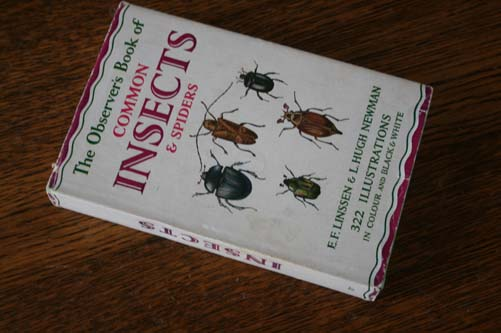 The Observers Book of Common Insects & Spiders