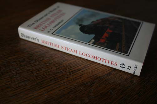 Observers Book of British Steam Locomotives